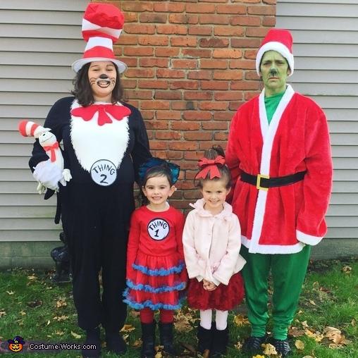 Dr. Seuss Group Costume