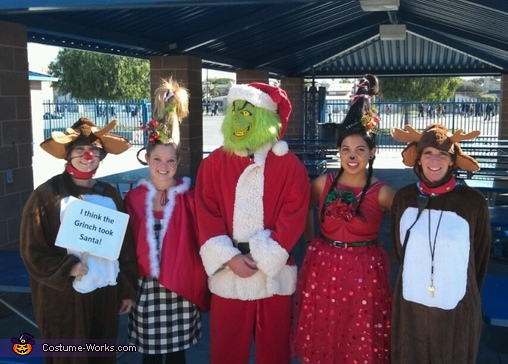 Dr. Seuss's Who from Whoville - Homemade costumes for groups