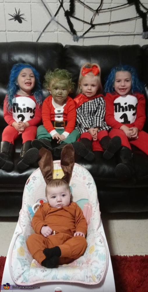 Dr. Suess Characters Costume