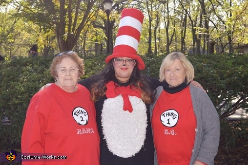 Dr. Suess Family Homemade Costume