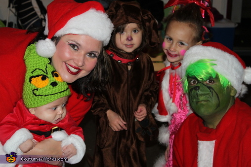 'This is, however, one teeny-tiny Christmas tradition I find quite meaningful...' Grinch, Dr. Suess' The Grinch Characters Family Costume