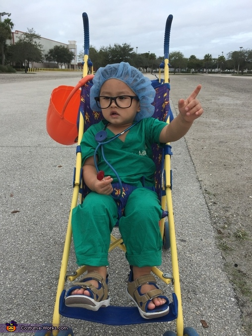 Dr Surgery Homemade Costume