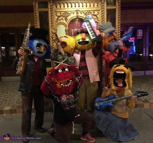 Another Group Photo, Dr. Teeth and The Electric Mayhem Costume