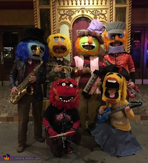 Dr. Teeth and The Electric Mayhem Costume