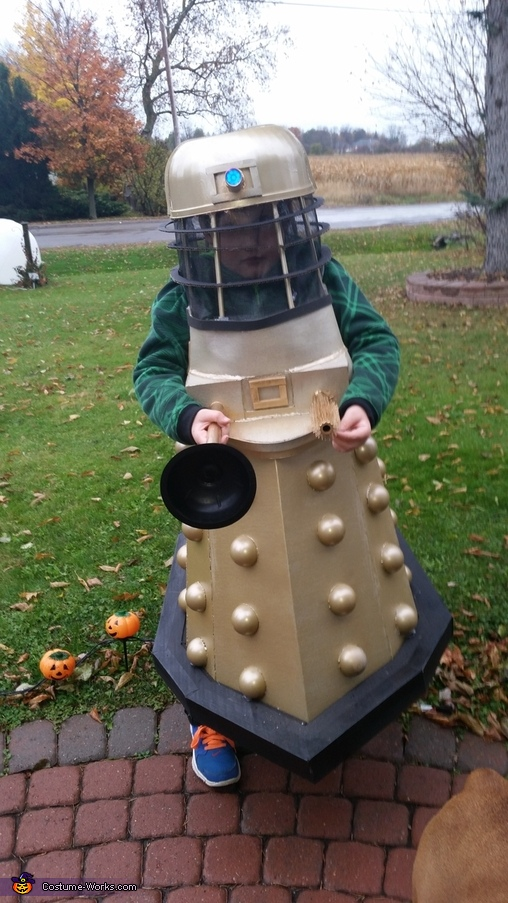 DIY Dr. Who Dalek Costume