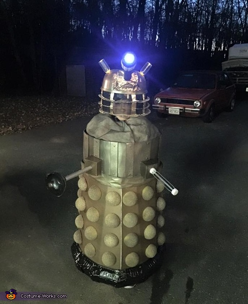 The Dollar Store Dalek Costume