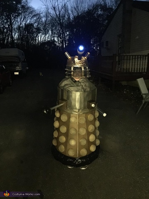 Dr Who Dalek Homemade Costume