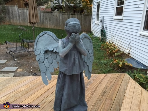 Weeping Angel - Final , Dr. Who Weeping Angel Costume