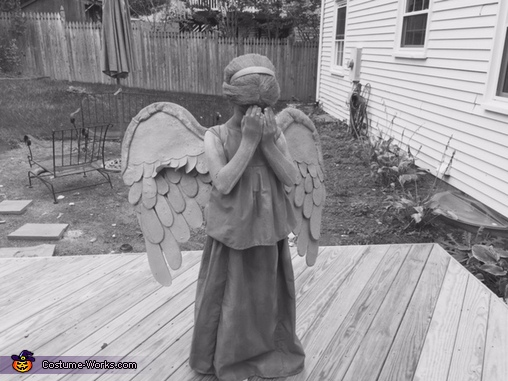 Weeping Angel Black & White, Dr. Who Weeping Angel Costume
