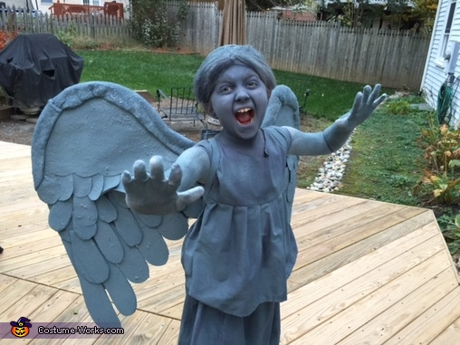 Don't Blink!, Dr. Who Weeping Angel Costume