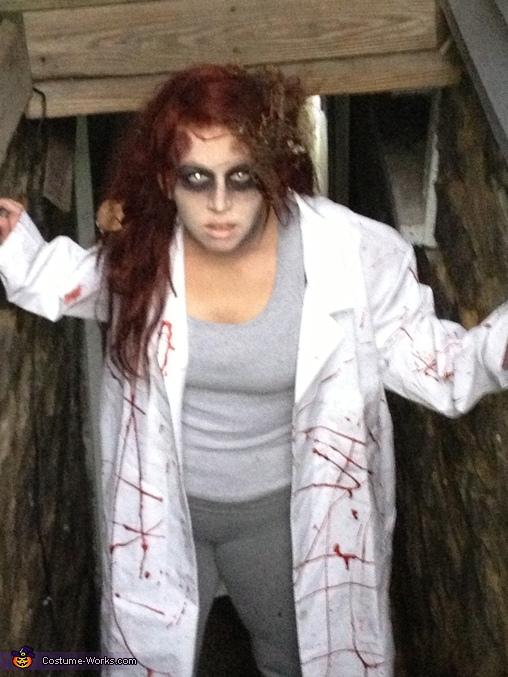 Dr. Zombie Costume