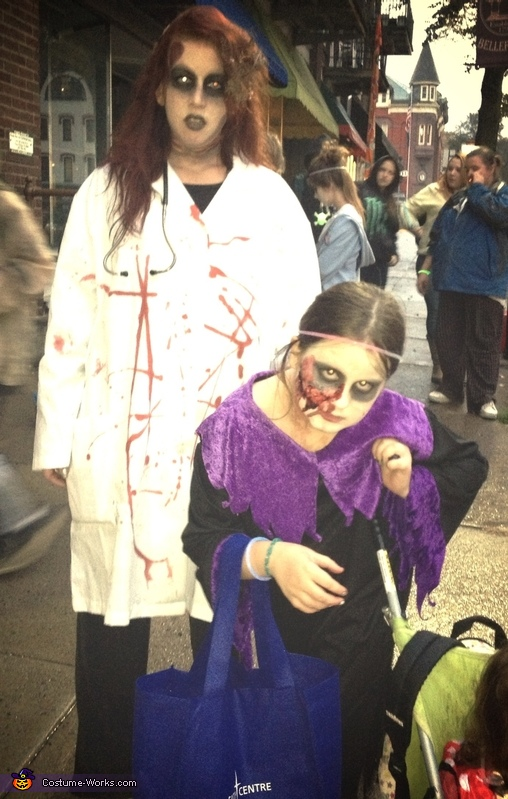 Zombie family, Dr. Zombie Costume