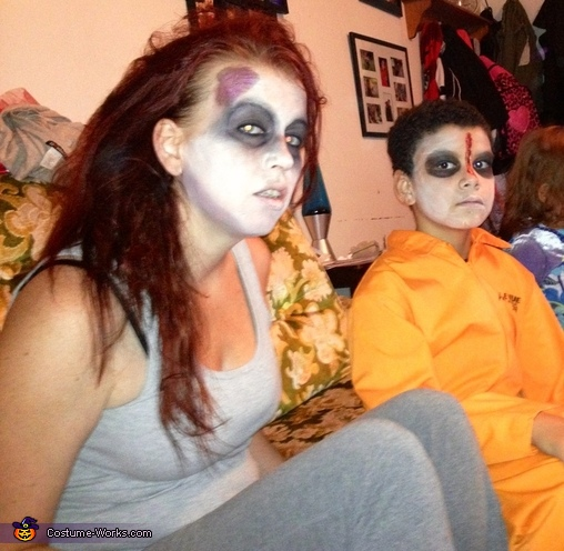 Mother and son zombie, Dr. Zombie Costume