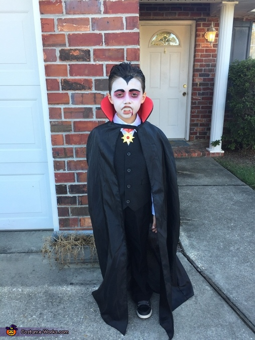 Dracula Homemade Costume