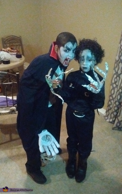Dracula and Edward Scissorhands Costumes