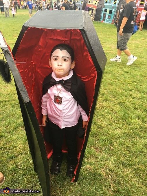Dracula Girl Homemade Costume