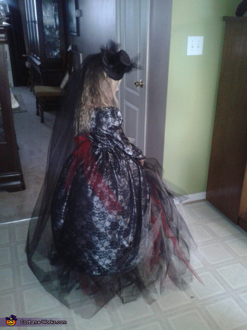 Dracula's Bride Costume for Girls