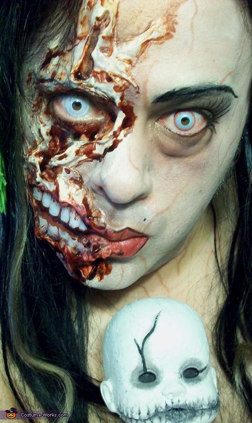 DRAG QUEEN ZOMBIE, Drag Queen Zombie Costume