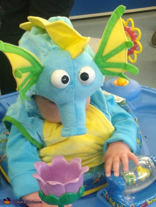 Busy playing, Dragon Baby Costume