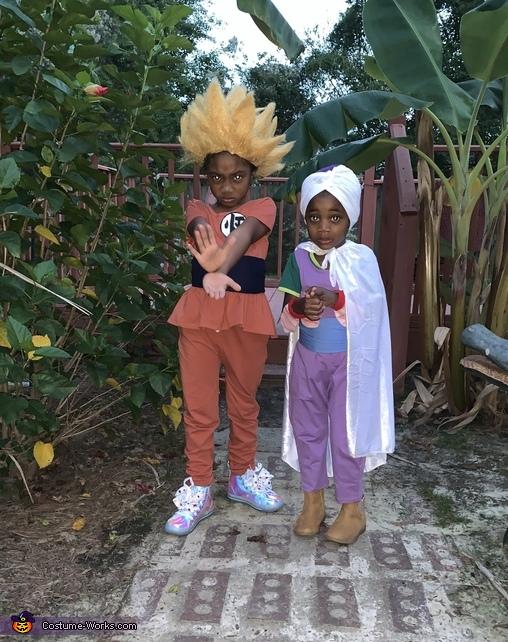 Dragon Ball Z Homemade Costume
