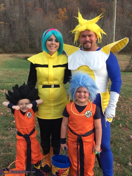 dragon ball z theme costume