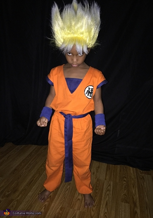 Homemade Goku Costume