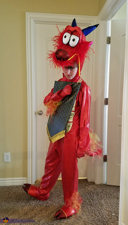 Dragon Girl - Mushu Costume