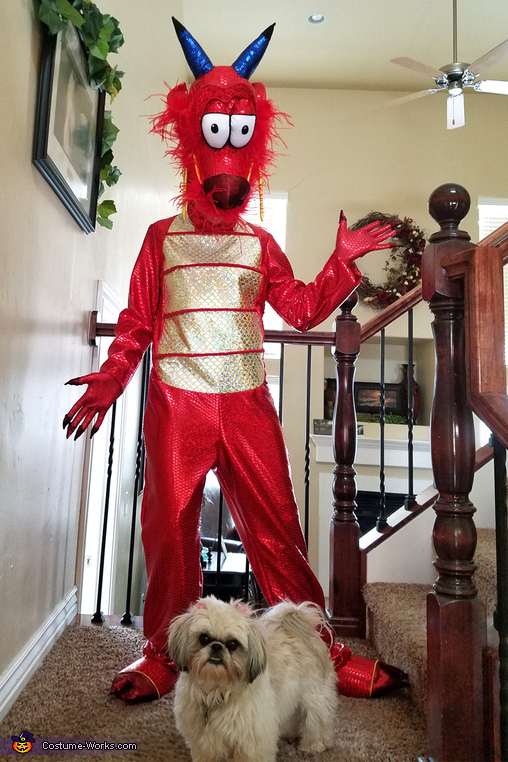 Dragon Girl - Mushu Homemade Costume