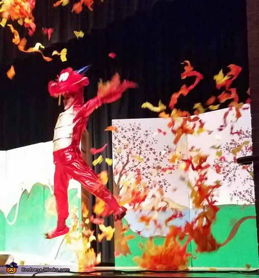 Dragon Girl - Mushu Homemade Costume