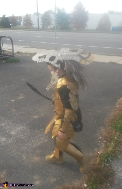 Dragon Hunter Costume