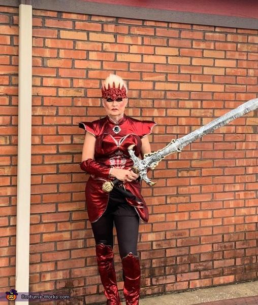 Dragon Queen Warrior Costume