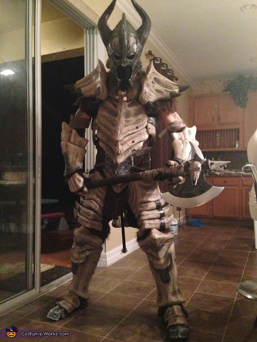 Dragonbone Armor Homemade Costume