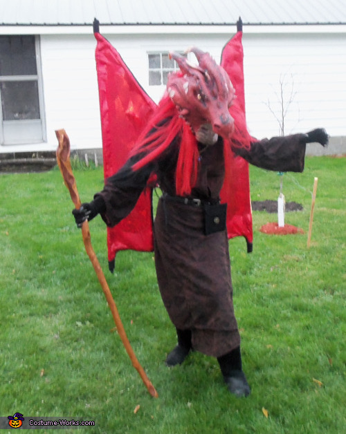 Dragonlance Draconian Magic User Costume