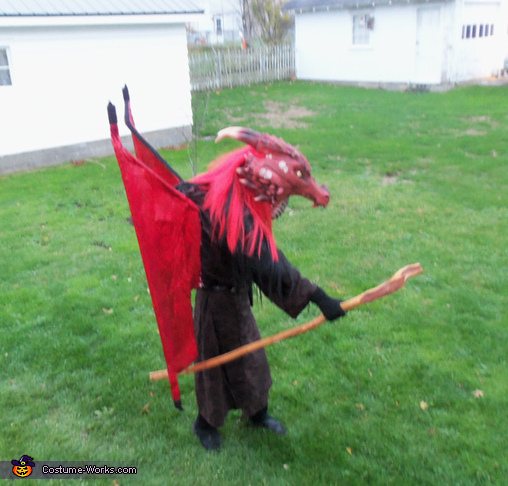 Dragonlance Draconian Magic User Homemade Costume