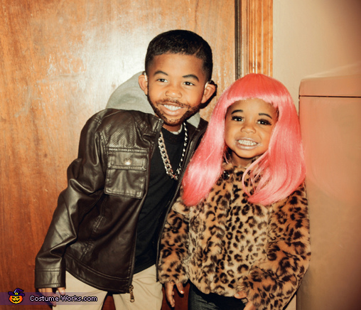 Drake and Nicki Homemade Costume