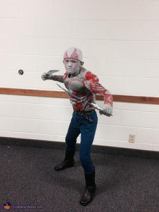 Drax Costume