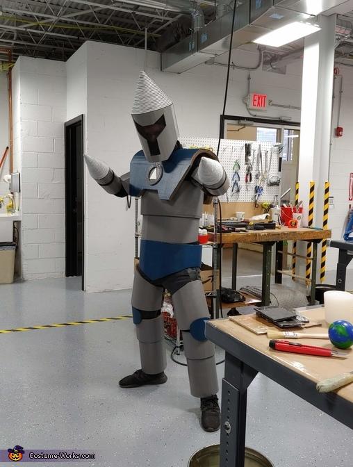 Drill Bot Homemade Costume