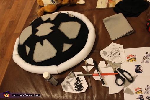 Shell Details, Dry Bones Costume