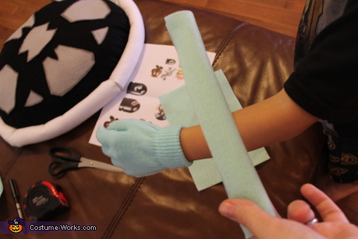 Gloves, Dry Bones Costume