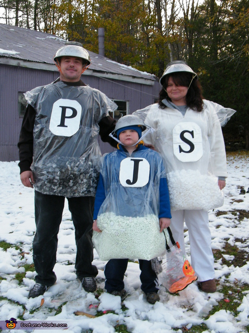 Mr. & Mrs. Salt & Pepper Family Costume