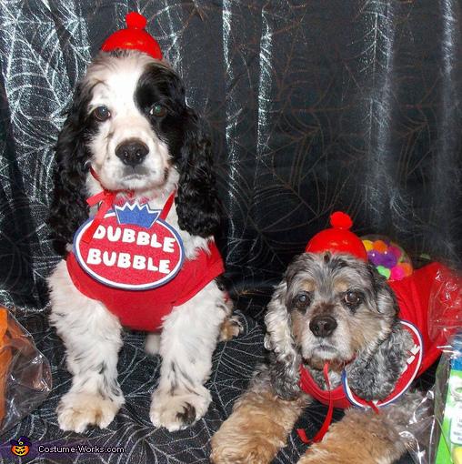 Dubble Dog Dubble Bubble Gumball Machines Costume