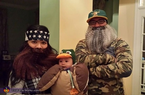 Duck Dynasty Homemade Costumes
