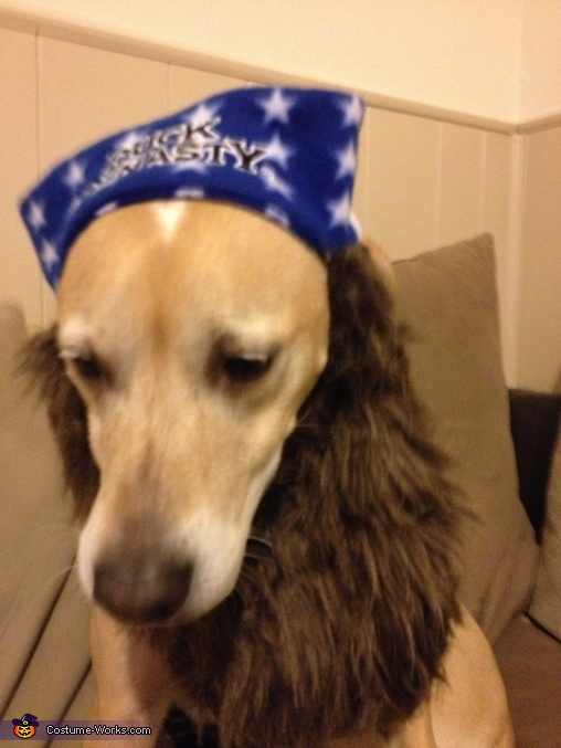 Duck Dynasty Dog Homemade Costume