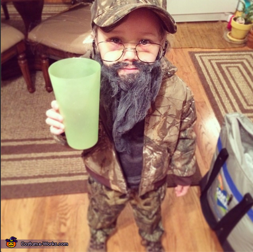 Duck Dynasty Si Costume