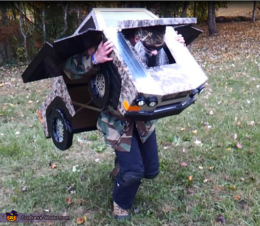 Duck Dynasty Transforming Truck, Duck Dynasty Truck Costume