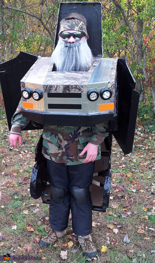 Duck Dynasty Truck Costume