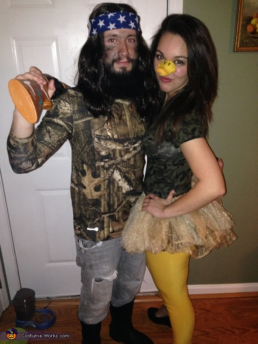 Duck Dynasty Willie and his Duck Couples Costume