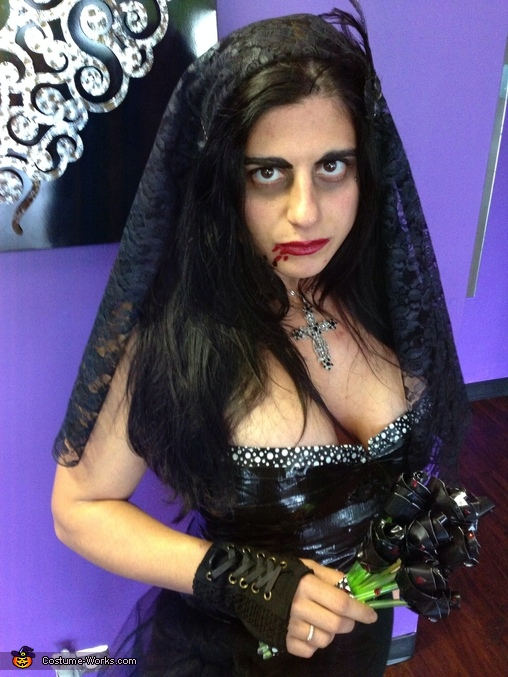Duct Tape Vamp Bride Costume