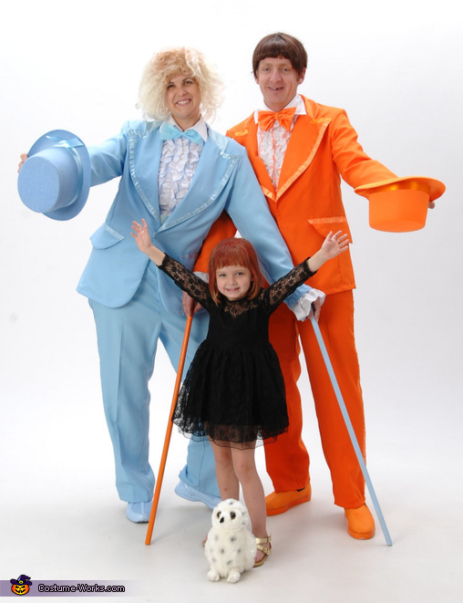 Our Dumb Halloween 2, Dumb and Dumber Family Costume