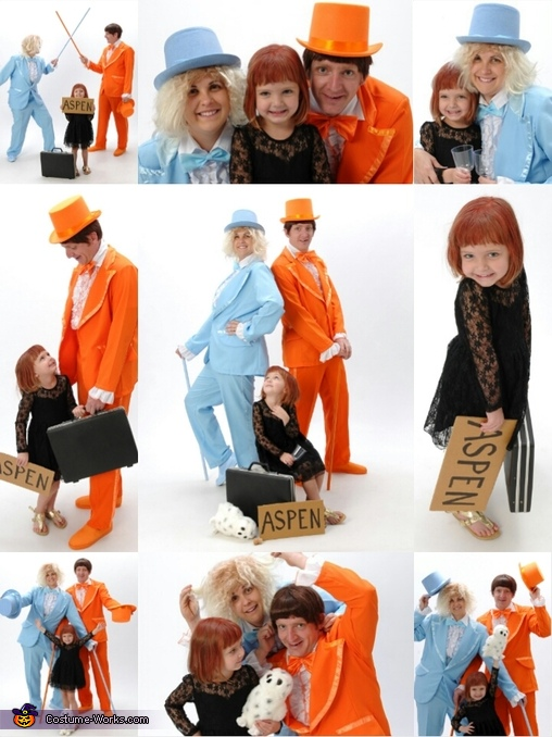 Dumb Collage, Dumb and Dumber Family Costume